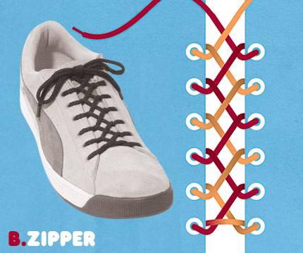 15 способов завязывания шнурков