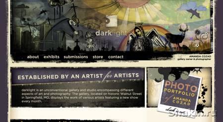 Сайт-шоу: 21 сайт с оригинальным дизайном
