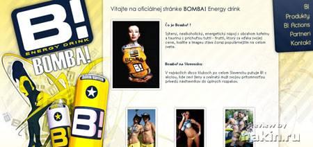 красивый сайт www.bombaslovakia.sk