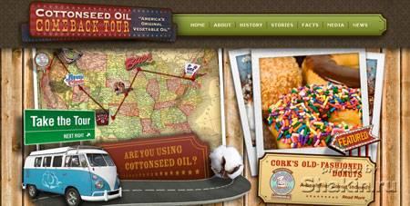 красивый дизайн www.cottonseedoiltour.com