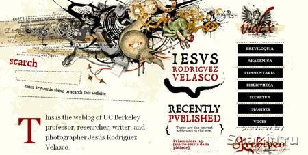 красивый сайт www.jrvelasco.com
