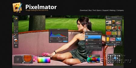 pixelmator веб-дизайн