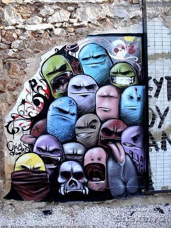 красивое граффити