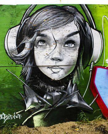 граффити красивое