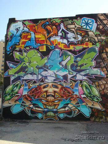 граффити graffitti
