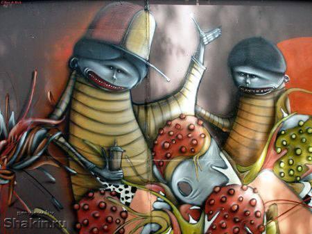 граффити рисунки