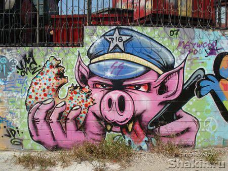 граффити рисунок