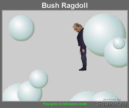 flash game bush ragdoll