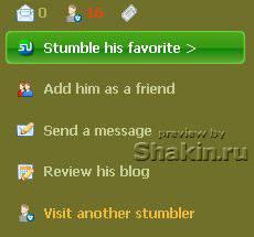 stumbleupon add him as a friend