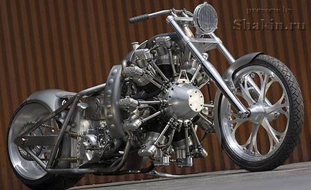 стимпанк мотоцикл