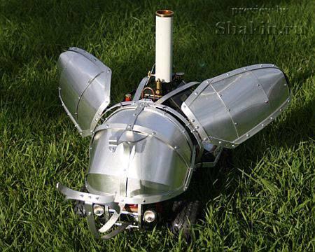 Механический steampunk жук