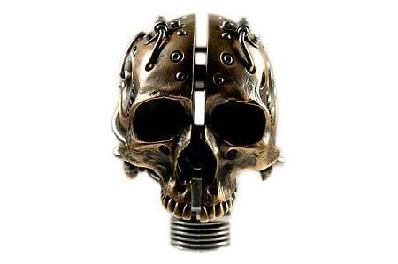 Steampunk череп