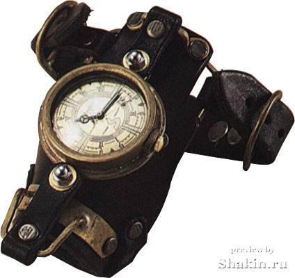 Оригинальные стимпанк часы