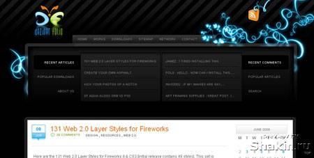 dezinerfolio веб дизайн блог