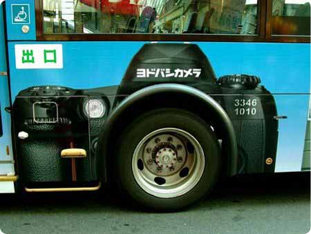 фотоаппарат креативная реклама