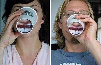 чашка креативная реклама