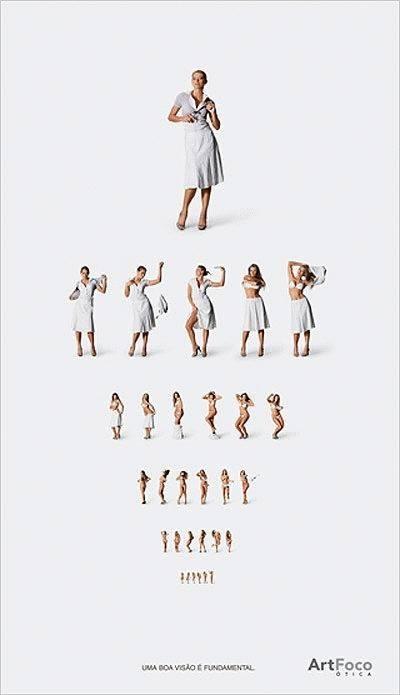 проверка зрения креативная реклама