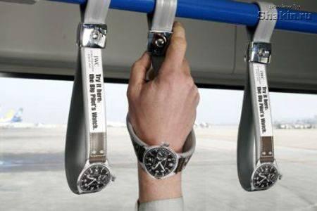 креативная реклама часов