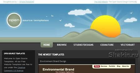 www.opensourcetemplates.org