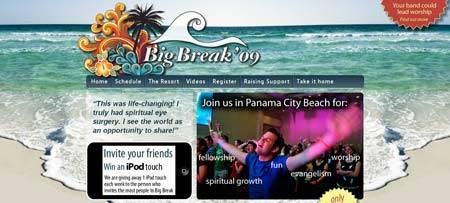 вебдизайн big-break.com