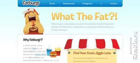 Fatburgr.com - сайт, аналога которому в рунете нет