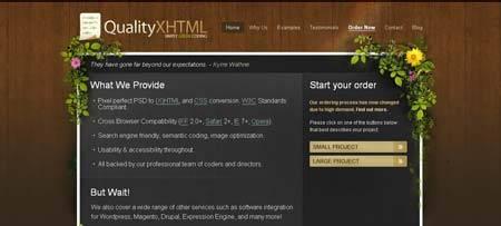 Qualityxhtml.com - просто, красиво и со вкусом