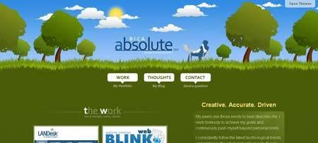 """Absolutebica.com - у этого сайта не забудьте кликнуть на """"Open Themes"""" в правом верхнем углу"""