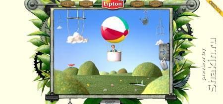 Liptoncleargreen.nl - голландский сайт о чае Lipton