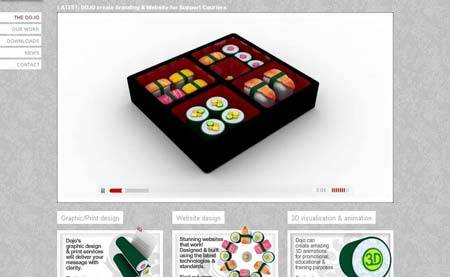 Dojodesignstudio.com - портфолио шотландской дизайн-студии Dojo из Глазго