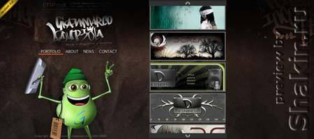 Gianmarcolauriola.com - сайт дизайнера финско-итальянского происхождения Жанмарко Лариола