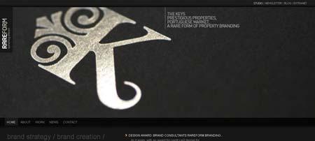 Rareformbranding.com - работы в портфолио этой студии фирменного стиля выглядят очень профессионально