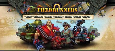 Fieldrunners.com - красивый сайт игры для iPhone и iPod Fieldrunner.