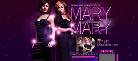 Myspace.com/therealmarymary - этот дизайн страницы в социальной сети Myspace