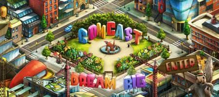 Comcasttown.com - очень интересный флеш сайт