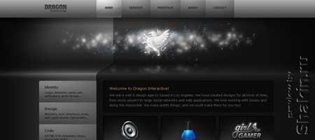 Dragoninteractive.com -дизайн-студия из Лос-Анджелеса