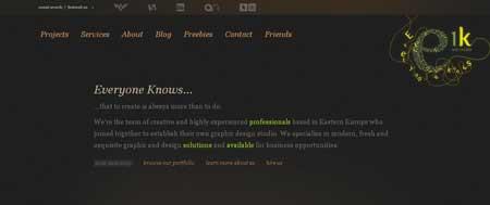 Every1knows.com - сайт группы дизайнеров из Восточной Европы