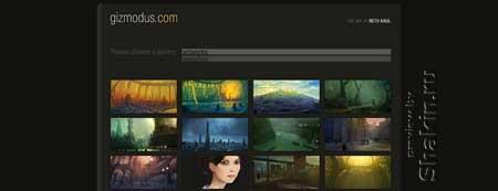 Gizmodus.com - персональный сайт швейцарского фрилансера Рето Кауля