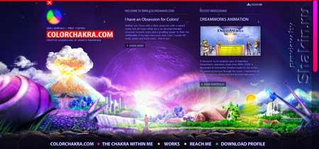"""Colorchakra.com - """"Цветная чакра"""" - сервис для любителей прочищать чакры"""