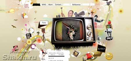 Feartox.com - сайт фрилансера Эдвина Мурата Гантера