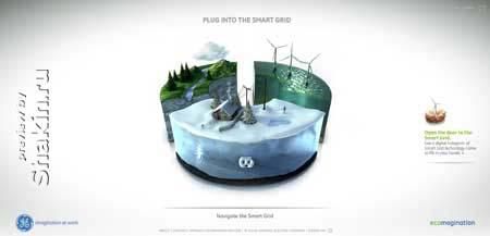 Ge.ecomagination.com - сайт компании General Electric