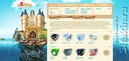 Coolbrushdesign.com - сайт креативной дизайн студии
