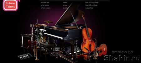 """Futuretalent.org - """"будущие таланты"""" - сайт, цель которого - находить молодых талантливых музыкантов"""