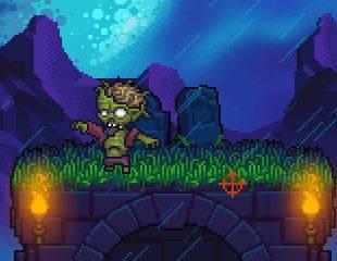 flash игра зомби