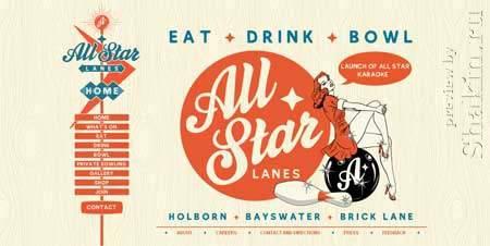 Allstarlanes.co.uk - если будуту в Лондоне и захотите поиграть в боулинг