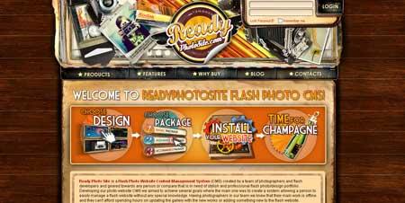 Readyphotosite.com - интересный сайт движка для фотосайтов