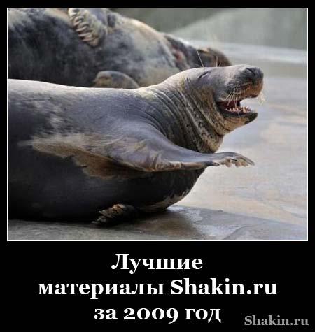 Лучшие материалы Shakin.ru за 2009 год