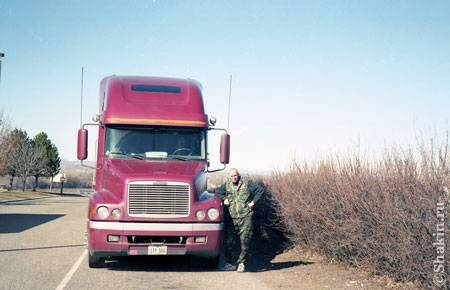 На границе штатов Орегон и Айдахо