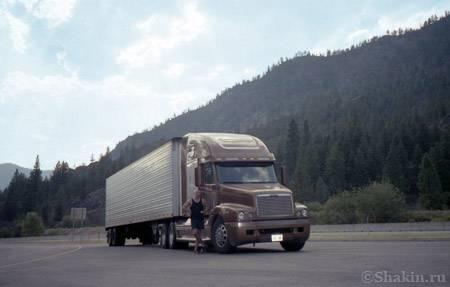 В рейсе, штат Орегон