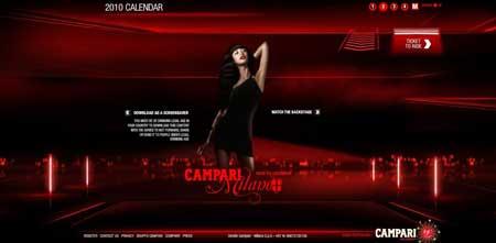 Campari.com  - фанаты Ольги Куриленко, трепещите