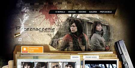 Przeznaczenie.eu - судя по всему, это сайт польского телесериала «Przeznaczenie» («Направление»)